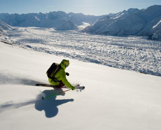 Jason Scheben at Majestic Heli ski, Alaska