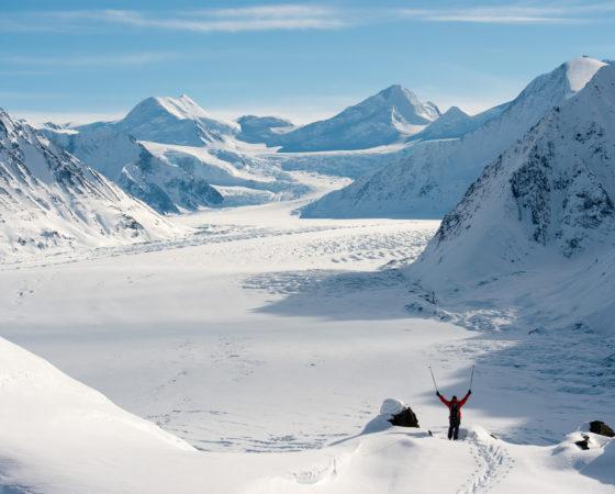 Chris at Majestic Heli ski, Alaska