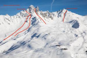 Meribel ski hors-psite