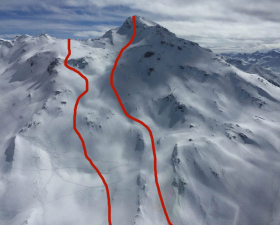 Val Thorens ski hors psite