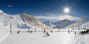 Tignes - ski hors psite