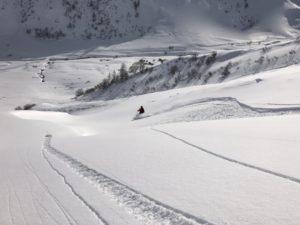 val d'Isère - hors piste