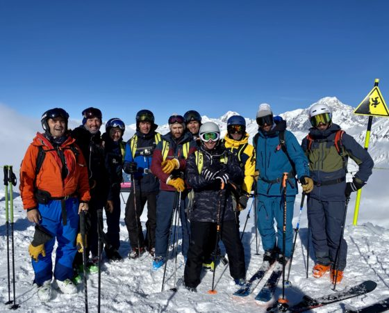 Groupe L'Or Blanc - ski freeride