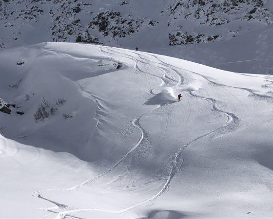 l'Or Blanc - ski hors psite