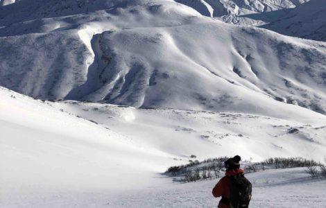 perfect kamchatka run  L'Or Blanc heliski