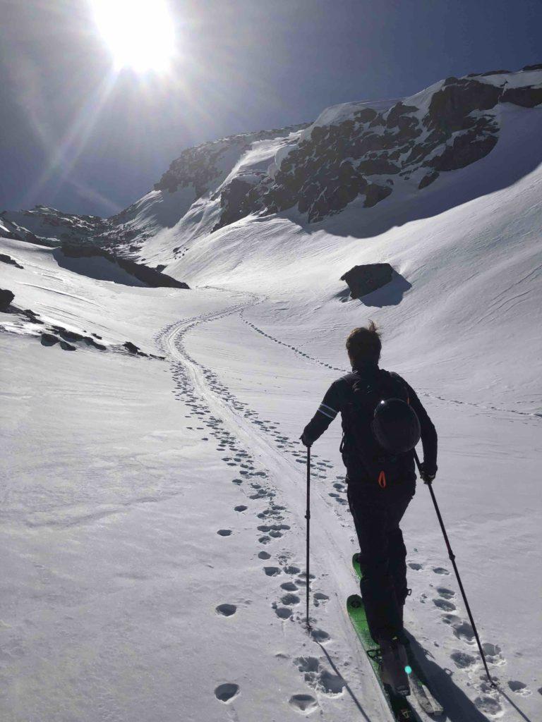 ski de randonnée Val Thorens, L'Or Blanc