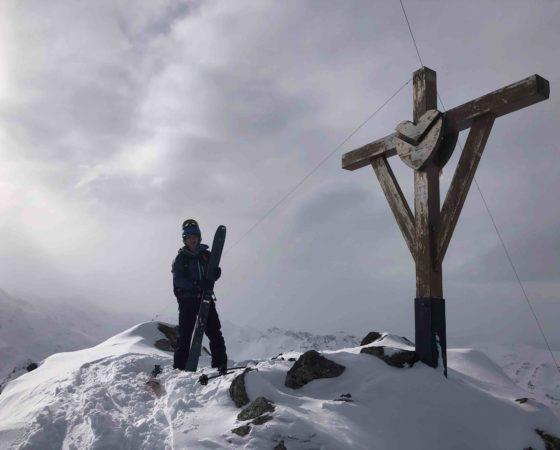 ski de randonnée Meribel, L'Or Blanc
