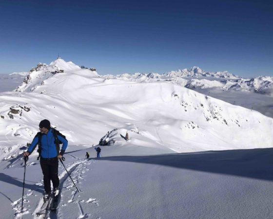 ski de randonnée courchevel L'Or Blanc agence de voyage