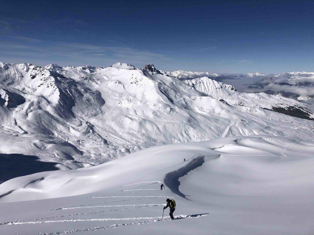 ski de randonnées courchevel , L'Or Blanc