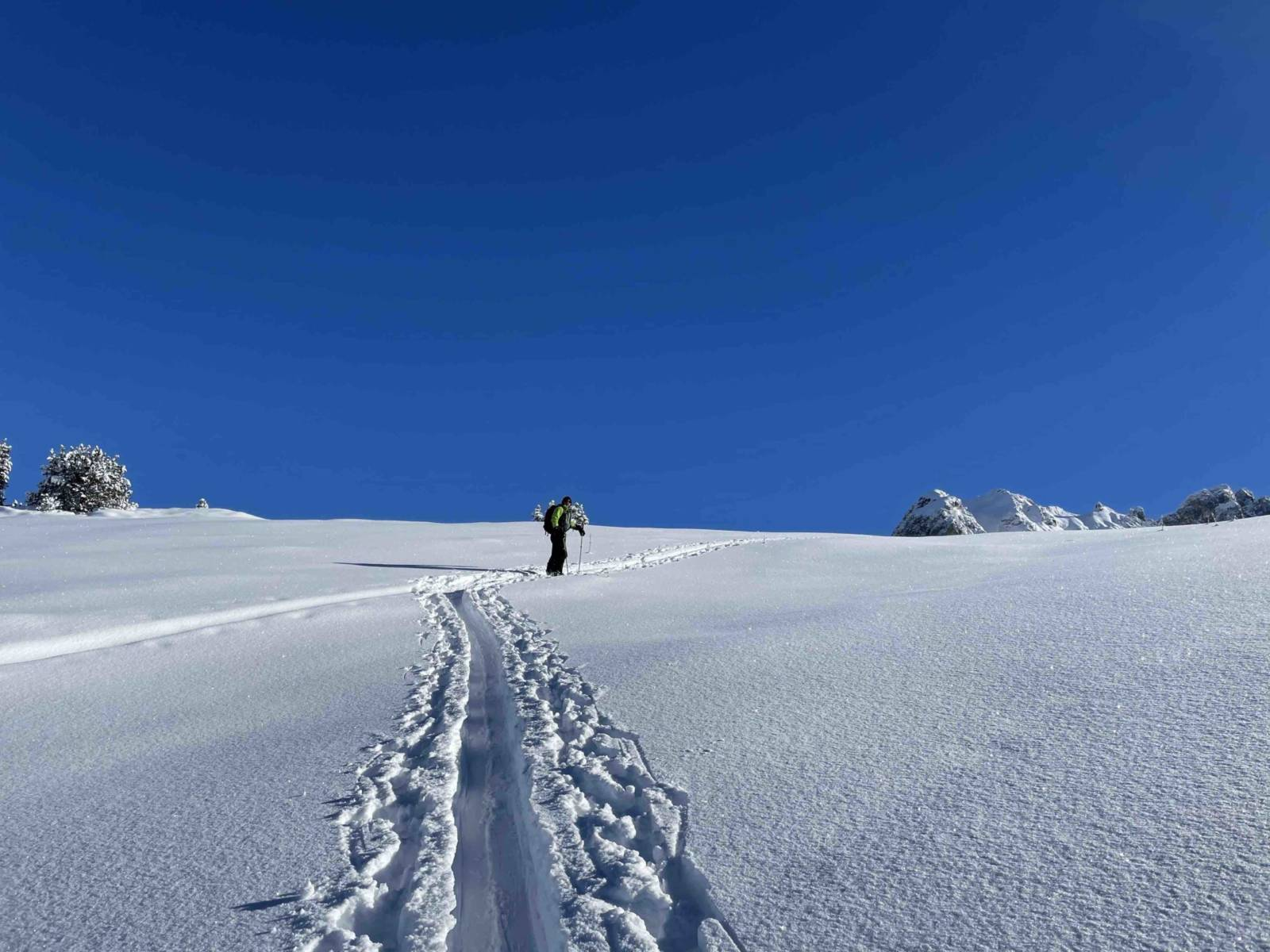 ski de randonnée Les Arcs, L'Or Blanc