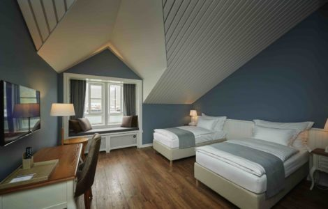 heliski island , hotel siglo chambre double